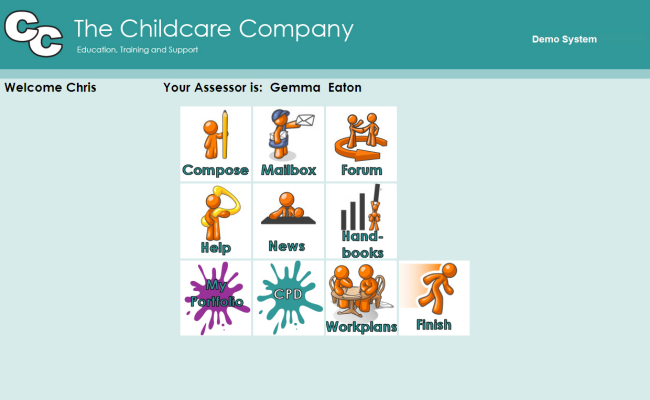 Childcare - Learner's homepage
